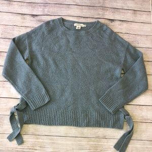 H&M Side Tie oversized Sweater  Size M